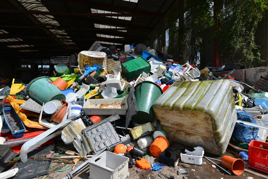 Hartplastik, Müll, Recycling, Wertstoff, Abfallwirtschaft