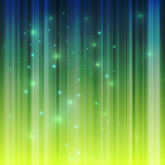 Northern lights vector background template concept