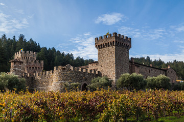 Castle in Napa County