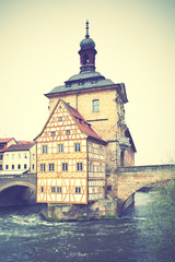 Fototapete - Bamberg