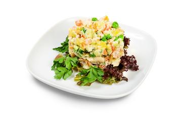 Russian traditional Salad