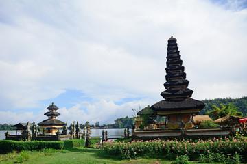 Ulun Danu Hindu temple, Bedugul, Bali, Indonesia