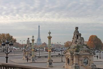 Fotobehang Parijs Paris Place de la Concorde