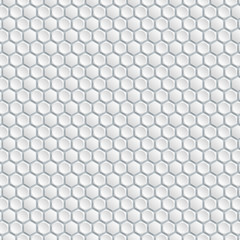 Vector Background #Honeycomb Structure, White