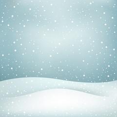 snowfall background