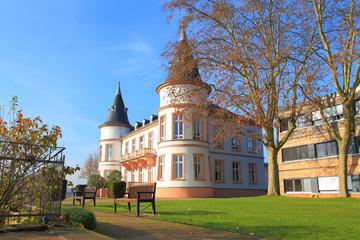 Schloss Hansenberg im Rheingau (November 2014)