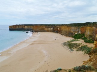 The beach of London Arch in the Port Campbell National Park