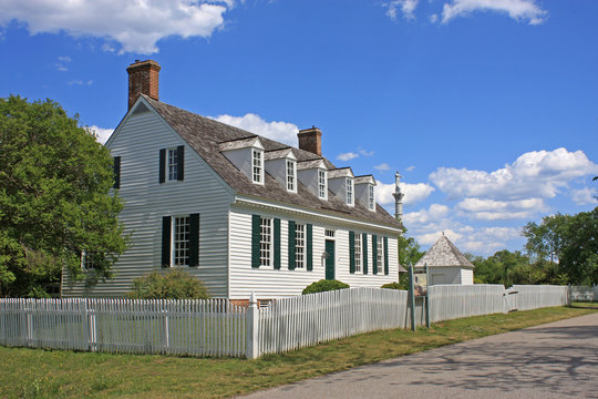 street in Yorktown, Virginia