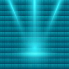 bright-light-spotlight-turquoise-mosaic-background