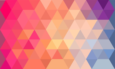 Bright abstract background vector illustration colorful