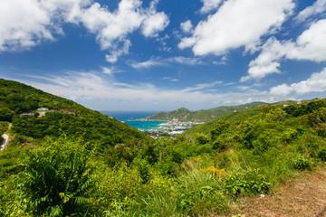 Tortola aerial