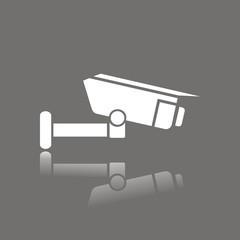 Icono cámara de seguridad FO reflejo