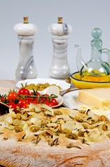 Italian Focaccia bread © Arena Photo UK