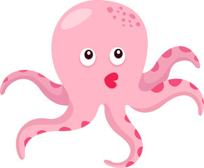 Illustrator of octopus