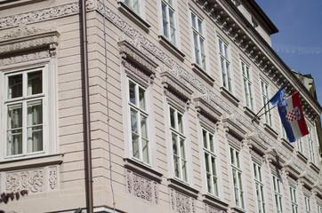 building in zagreb