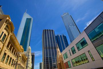 Skyscrapers in perth, western australia