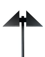 modern design lamppost