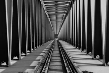 Photo sur Plexiglas Pont Railway bridge
