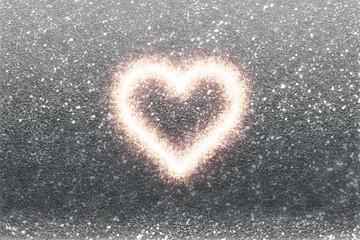 love sparkle heart