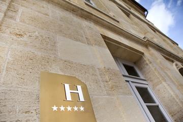 Facade of a five stars hotel