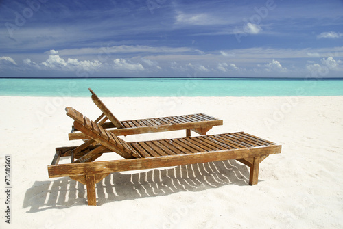 liegestuhl am strand 73689661. Black Bedroom Furniture Sets. Home Design Ideas