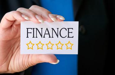 Finance - Five golden Stars