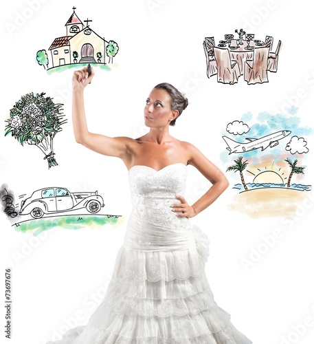 """""""Organizing A Wedding"""" Imagens E Fotos De Stock Royalty"""