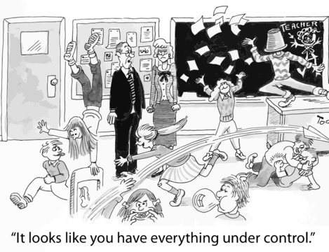 """""""It looks like you have everything under control."""""""