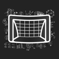 Drawing business formulas: gate