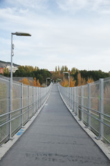 Footbridge in Cuenca