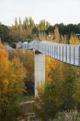 High footbridge in Cuenca