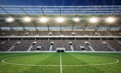 Wall Mural - Stadion Mittellinie 2