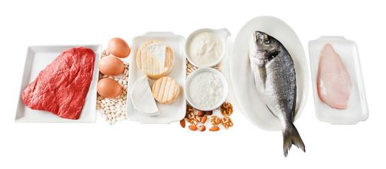 Fisch - Fleisch - Käse - Eier
