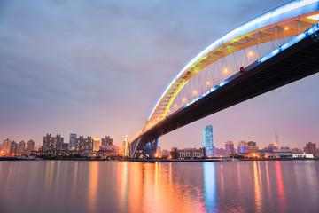 Fotobehang - shanghai lupu bridge