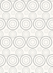 Vector seamless pattern.   Repeating abstract background with