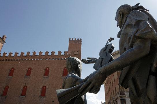 Cremona - Dettaglio della Cattedrale Santa Maria Assunta