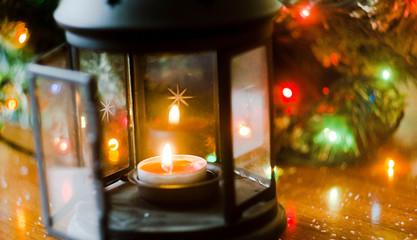 Bright Christmas lamp
