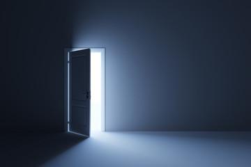 Light in empty room