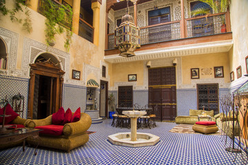 Riad in Marrakesh, Morocco