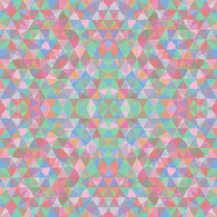 Triangular Mosaic Colorful BackgroundŒ