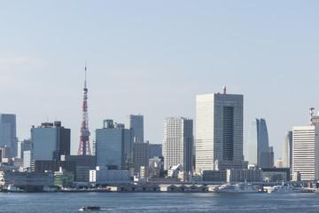 東京タワーのある風景