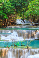 Fototapeta Huai Mae Khamin Waterfall