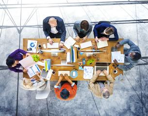 Brainstorming Planning Partnership Strategy Workstation Business