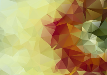 light green bstract polygonal background