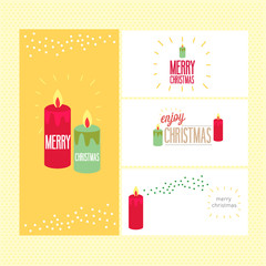 Collection of liday christmas card
