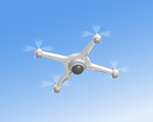 Remote air drone with camera