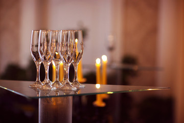 wedding glasses for champagne or wine