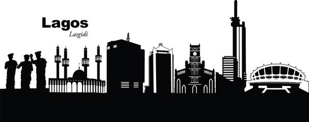 Lagos Nigeria Cityscape