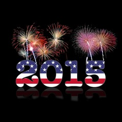 Usa New year 2015.