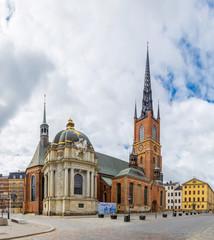 Cathedral in Stockholm, Sweden